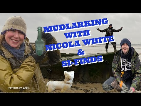 Come on a Wild, Wet & Freezing Mudlark with Nicola White & @Si-finds Thames Mudlark