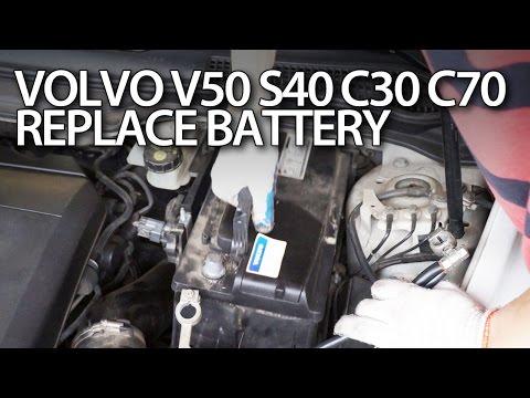 Оригинальный аккумулятор volvo s40 фотография