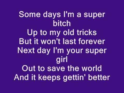 Christina Aguilera - Keeps Getting Better [Lyrics]