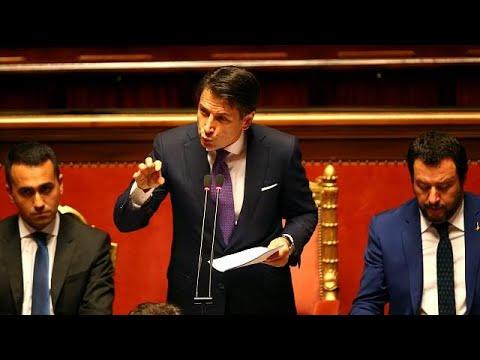 Vor Vertrauensabstimmung: Conte verkündet drastische Maßnahmen