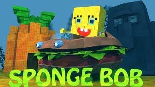 Minecraft | SPONGEBOB MOD Showcase! (Spongebob Mod, Custom Steves Mod, Animation Mod)