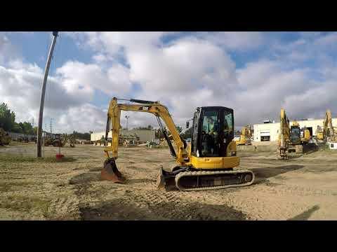 CATERPILLAR TRACK EXCAVATORS 305E2CR equipment video E5NslYGf3lI