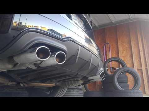 Mercedes Benz C63 AMG 6.3 cold start stock exhaust