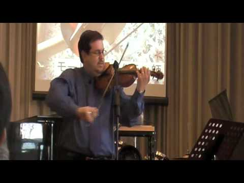 Jewish folklore - Maurice Sklar performing Jewish Folk Medley from Songs of Zion CD in Kyoto, Japan.