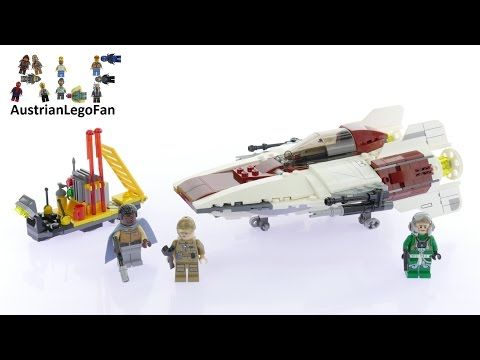 Vidéo LEGO Star Wars 75175 : A-Wing Starfighter