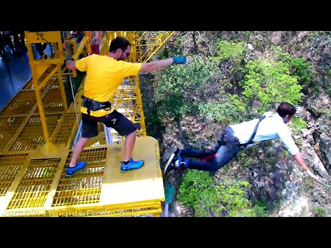 BUNGEE jumping | India | Cost of  thrilling experience | Rishikesh