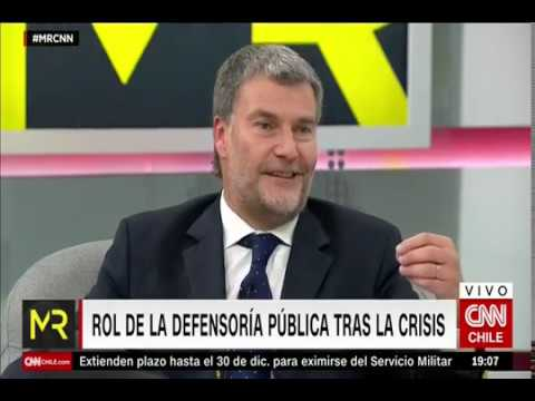 """Defensor Nacional: """"Solicitamos transparencia absoluta a Carabineros"""""""