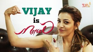 Vijay is Mersal | Rapid Fire with Kajal Aggarwal | Mersal Tamil Movie | Sri Thenandal Films