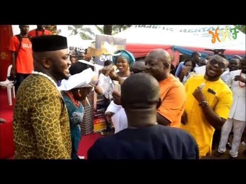 CELEBRITY WEDDING (Ken Erics and Other A List Nollywood Stars) - How To Have Fun Events
