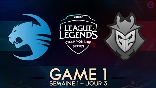 ROCCAT vs G2 Game 1 - LCS EU 2017 - Week 1 - Day 3 full download video download mp3 download music download