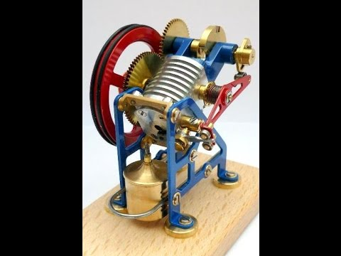 GB - Meine Website: http://bettigue.blogspot.de/ Dieser kleine Vacuummotor, auch Flammenfresser genannt, wurde 2010 konstruiert und gebaut von Gnter Bettinger. D...