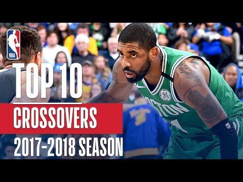 Top 10 Crossovers: 2018 NBA Season (видео)