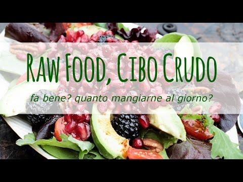 raw food: fa bene mangiare cibi crudi?