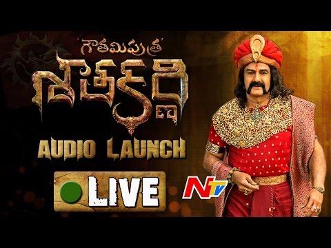 NBK's Gautamiputra Satakarni Audio Launch    LIVE    GPSK    Balakrishna    Krish (видео)