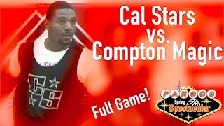 Close game!  Compton Magic vs. California Stars: Pangos Spring Spectacular 2017