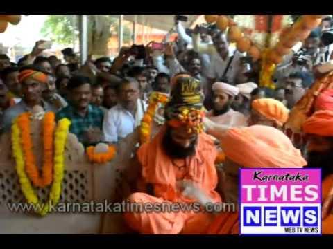 Yogi Nirmalnathji anointed Raja of Mangaluru Kadali Jogi Math