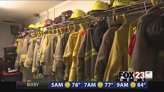 Local firefighters are preparing for potential wildfire danger.