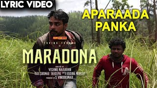 Video Maradona - Aparaada Panka (Lyric Video)   Tovino Thomas, Sharanya   Vishnu Narayan   Sushin Shyam MP3, 3GP, MP4, WEBM, AVI, FLV Juni 2019
