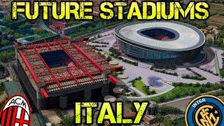 Futuros estadios de Italia