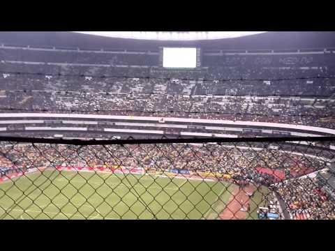 Cantico de la Monumental Final America VS Leon - La Monumental - América