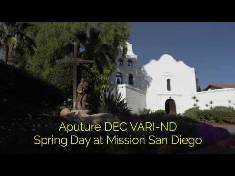 Aputure DEC Vari ND - Spring Day at The Mission San Diego