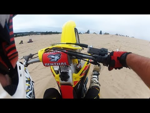 freeride films - Awesome weekend riding, jumping, crashing and wheelies in Oregon Dunes Labor day weekend 2013 with the Dirt Bike Pirates Cody Moto Buyas, James Kozlik, AJ Ho...