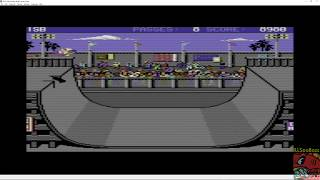 Skate or Die [Ramp Freestyle] (Commodore 64 Emulated) by ILLSeaBass