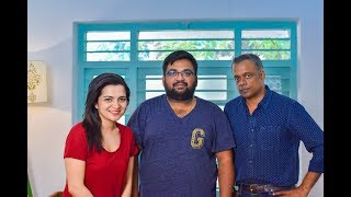 "Video "" I want to become a short Film Maker "" Gautham Menon and DD open up about Ulaviravu MP3, 3GP, MP4, WEBM, AVI, FLV Maret 2018"