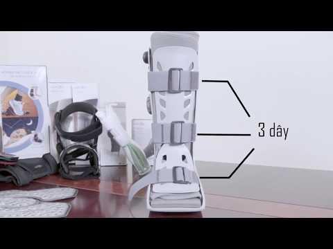 Hướng dẫn sử dụng giày đi bộ không bó bột Aircast AirSelect