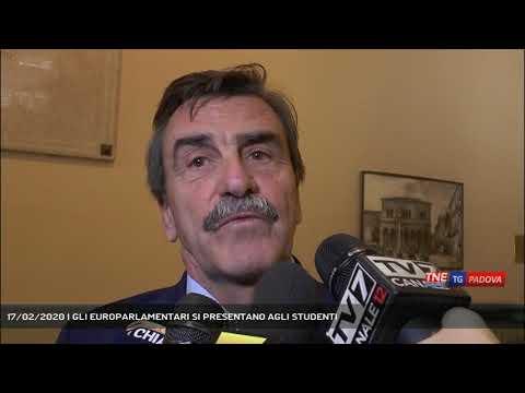 17/02/2020 | GLI EUROPARLAMENTARI SI PRESENTANO AGLI STUDENTI