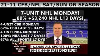 Free Monday Night Football Picks – Expert NFL MNF Predictions Texans Vs Ravens 11/27/17