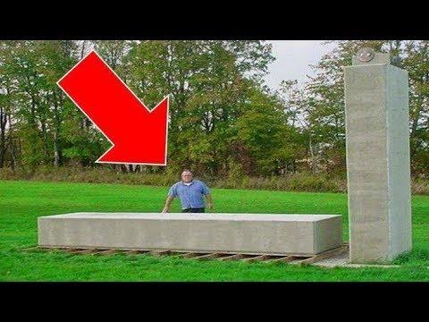 uomo dimostra che stonehenge è stata costruita a mano dall'uomo