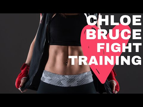 Chloe Bruce - Training