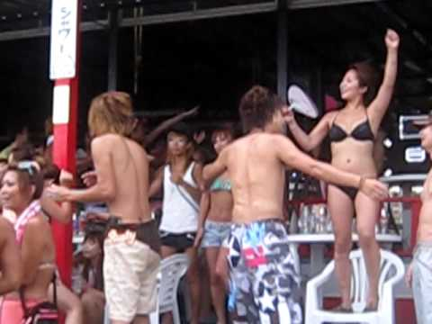 Enoshima Beach Party- Japan (видео)