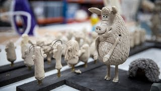 Video The Clay in Stop-Motion Animation at Aardman Studios MP3, 3GP, MP4, WEBM, AVI, FLV September 2019