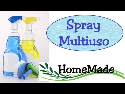 DIY - Spray Multiuso per tutte le superfici - Fai da Te / Home cleanse spray