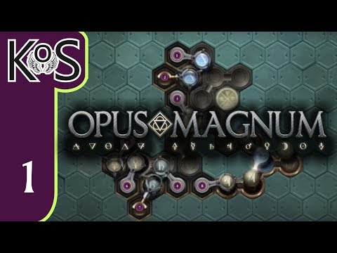 Opus Magnum Ep 1: IMPERIAL UNIVERSITY - Programming/Logic - First Look - Let's Play (Early Access)