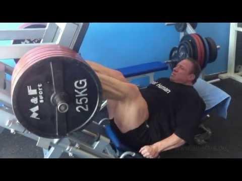 IFBB Pro Markus Rühl - Legs Workout