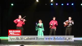 Cabaret Russe 4 artistes