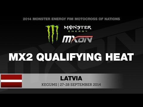MXoN 2014 MX2 Qualifying Highlights - Monster Energy FIM Motocross of Nations