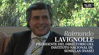 Raimundo Lavignolle - Presidente del Directorio del INASE