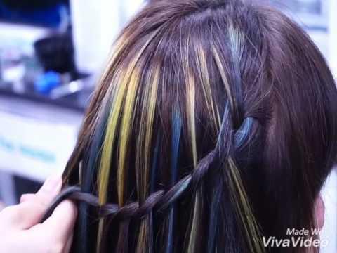 học thắt bín, học bín tóc, kiểu tóc bín mới, kiểu tóc bín đi tiệc, Salon tạo kiểu tóc đẹp