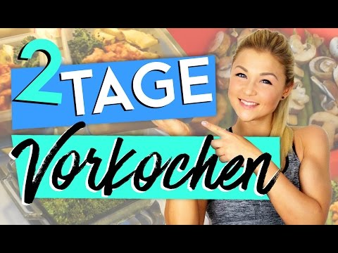 2 TAGE SPEED MEALPREP | FULL DAY OF EATING | VORKOCHEN
