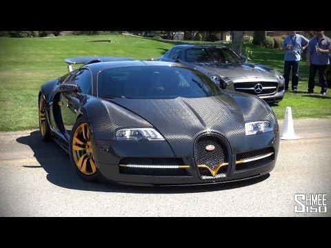 Mansory Linea Vincero d'Oro – Custom Carbon Bugatti Veyron