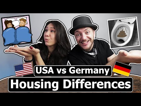 House Differences (Germany vs. USA - Homes)