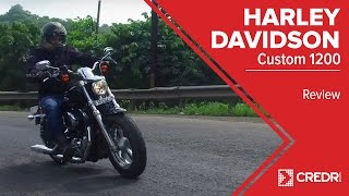 7. Harley Davidson 1200 Custom Review: A Very Stylish Sportster || CredR