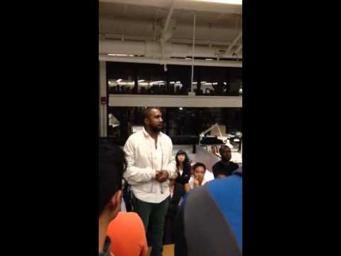 Kanye West Tells Harvard Students Why He 'Turns Up' So Much!