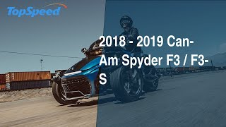 10. 2018 - 2019 Can-Am Spyder F3 / F3-S