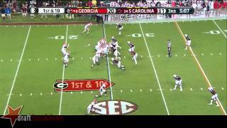 Hutson Mason vs South Carolina (2014)