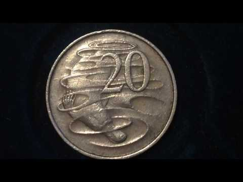 20 Cent Australia Coin dated 1967